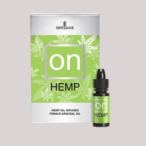 SENSUVA - ON AROUSAL OIL FOR HER HEMP OIL INFUSED