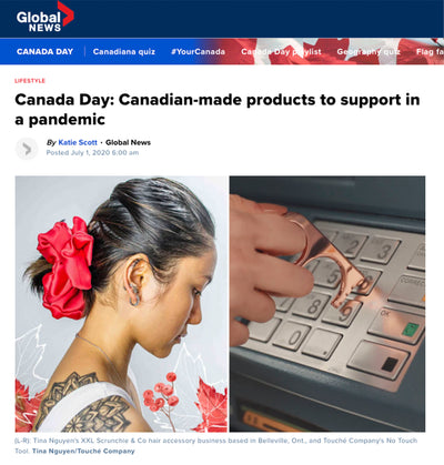 GLOBAL NEWS: CANADIAN-MADE PRODUCTS TO SUPPORT IN A PANDEMIC