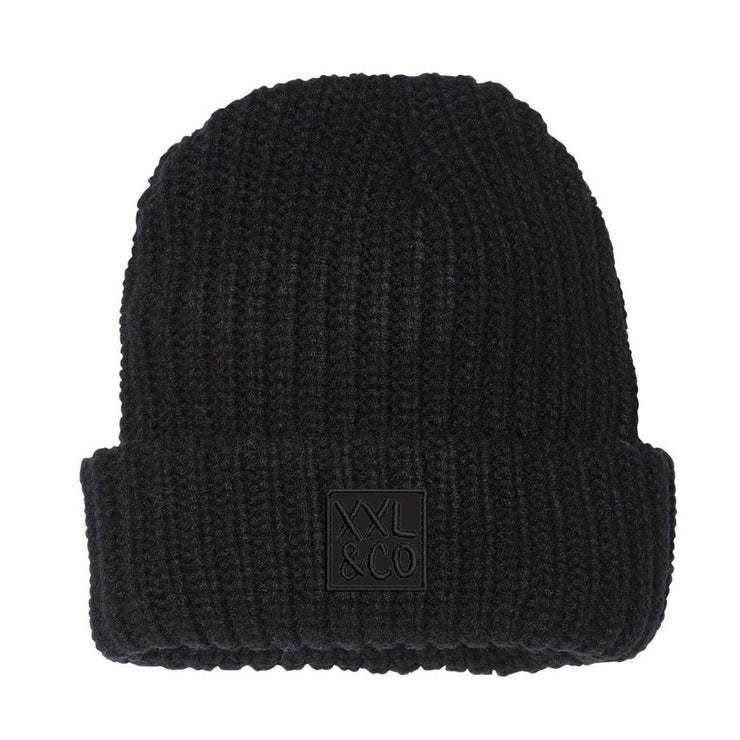 XXL & CO KNIT TOQUE - XXL SCRUNCHIE & CO