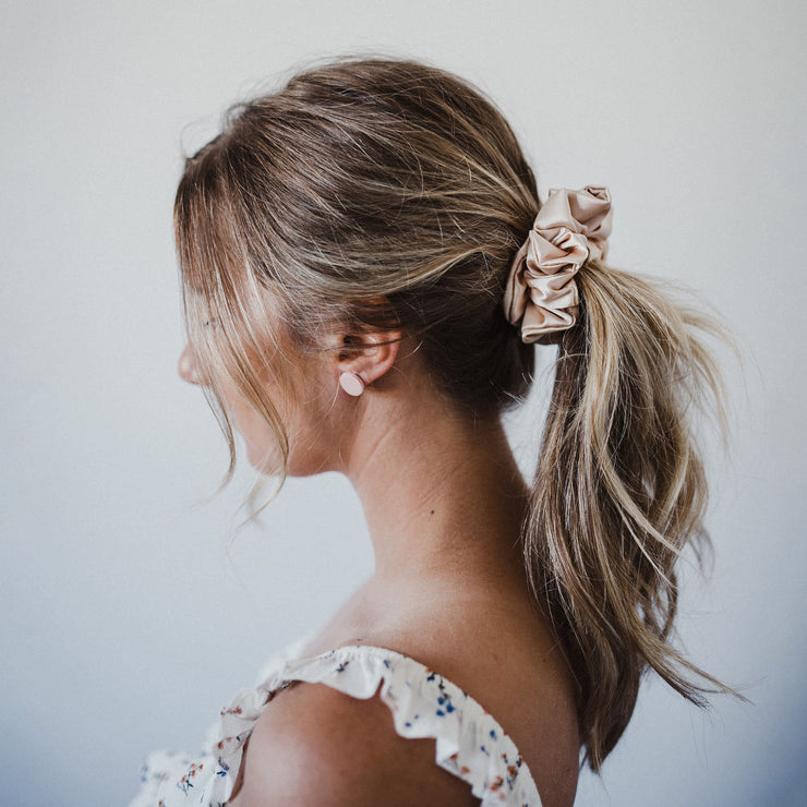 JULIETTE MINI - XXL SCRUNCHIE & CO / Nude