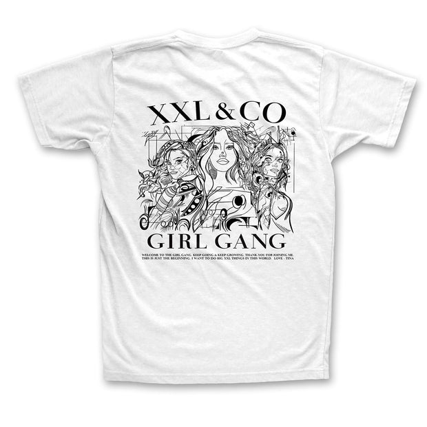 THE GIRL GANG TEE 2.0. - XXL Scrunchies