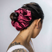 VERONICA - XXL SCRUNCHIE & CO / Red Wine