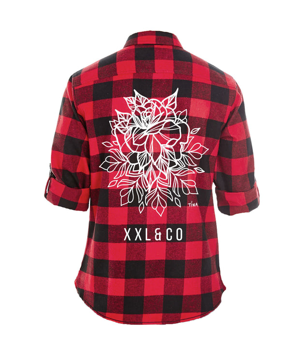 The Kalyna Flannel - XXL Scrunchies