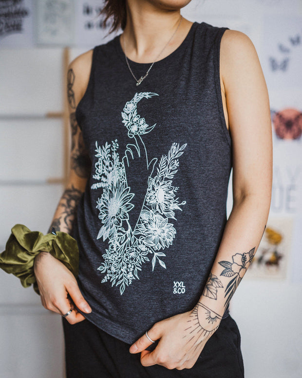 The Ashh Tank - XXL SCRUNCHIE & CO / ASH CHARCOAL
