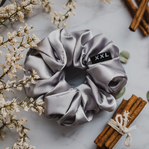 LINDSAY MINI - XXL SCRUNCHIE & CO / Silver