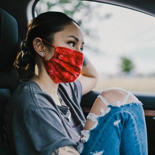 ADJUSTABLE MASK CHERRY - XXL Scrunchies