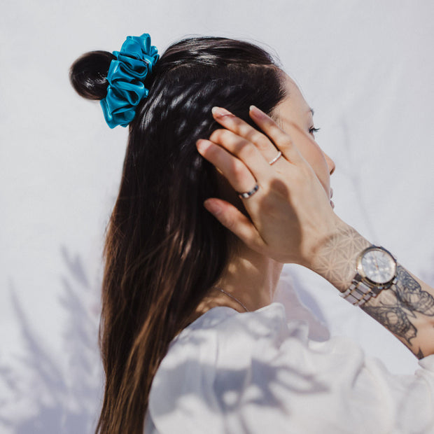 COOPER MINI - XXL SCRUNCHIE & CO / TEAL