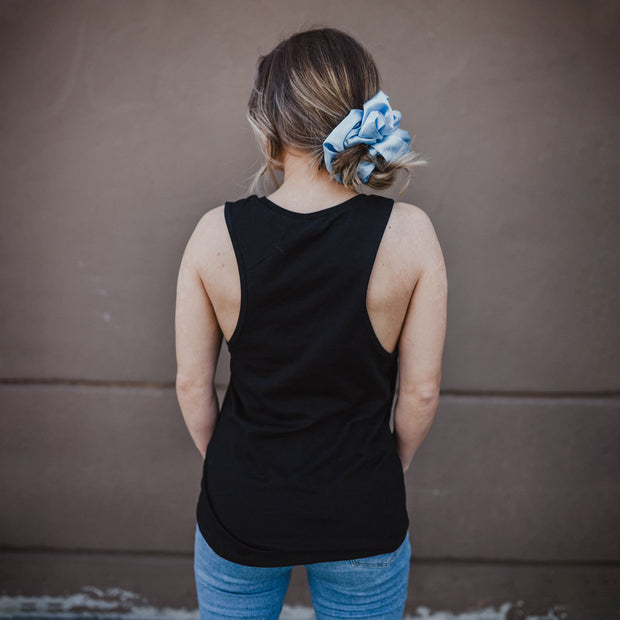The Ashh Tank - XXL SCRUNCHIE & CO / Black