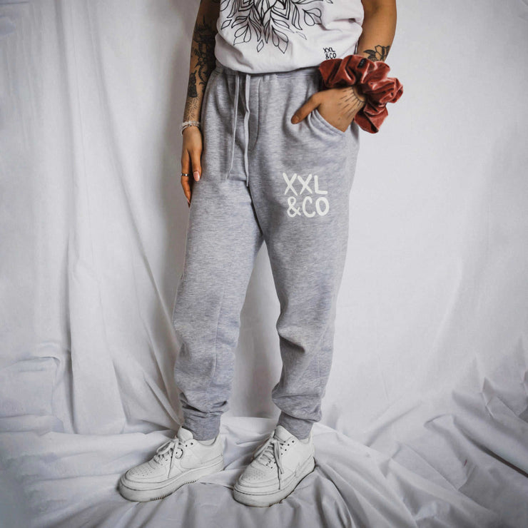 The Jairus Joggers - XXL SCRUNCHIE & CO / Heather Grey