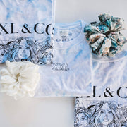 THE GIRL GANG TIE-DYE TEE - XXL Scrunchies