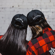 XXL & CO DAD CAP - XXL SCRUNCHIE & CO / BLACK