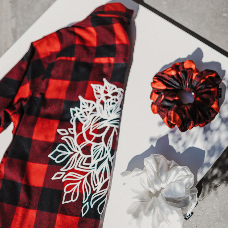 The Kalyna Flannel - XXL SCRUNCHIE & CO / Buffalo Plaid