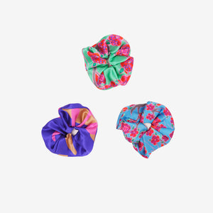 Island Dreams Scrunchie Trio
