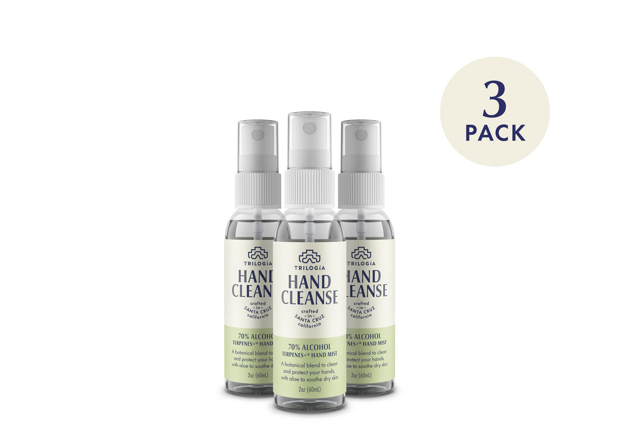 Hand Cleanse Terpenes+™ Spray · 2oz - 3-Pack