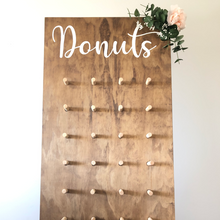 Load image into Gallery viewer, Beautiful Freestanding Donut wall for a fun way to display your desert