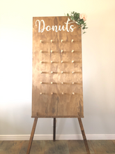 Load image into Gallery viewer, Wooden Freestanding Donut Wall
