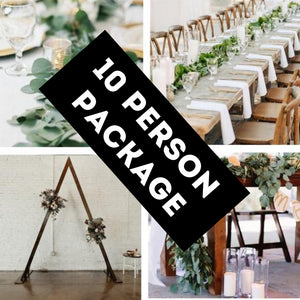 Wild Rustic 10 Wedding Package