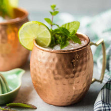 Load image into Gallery viewer, Moscow Mule Pure Copper Handcrafted Mug