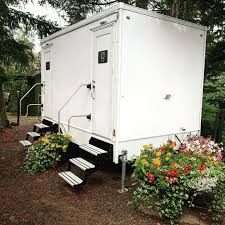 Two-Stall 'Luxury Loo' Portable Restroom