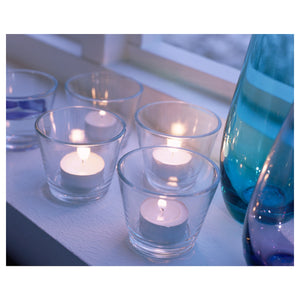 Round Glass Votive Candle Holder