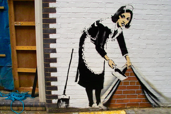 Who is Banksy? An artist who always hits the spot