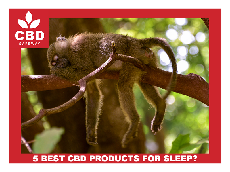 5 BEST CBD PRODUCTS FOR SLEEP
