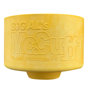 Original McCuff® Motorcycle Fill Spill Protector
