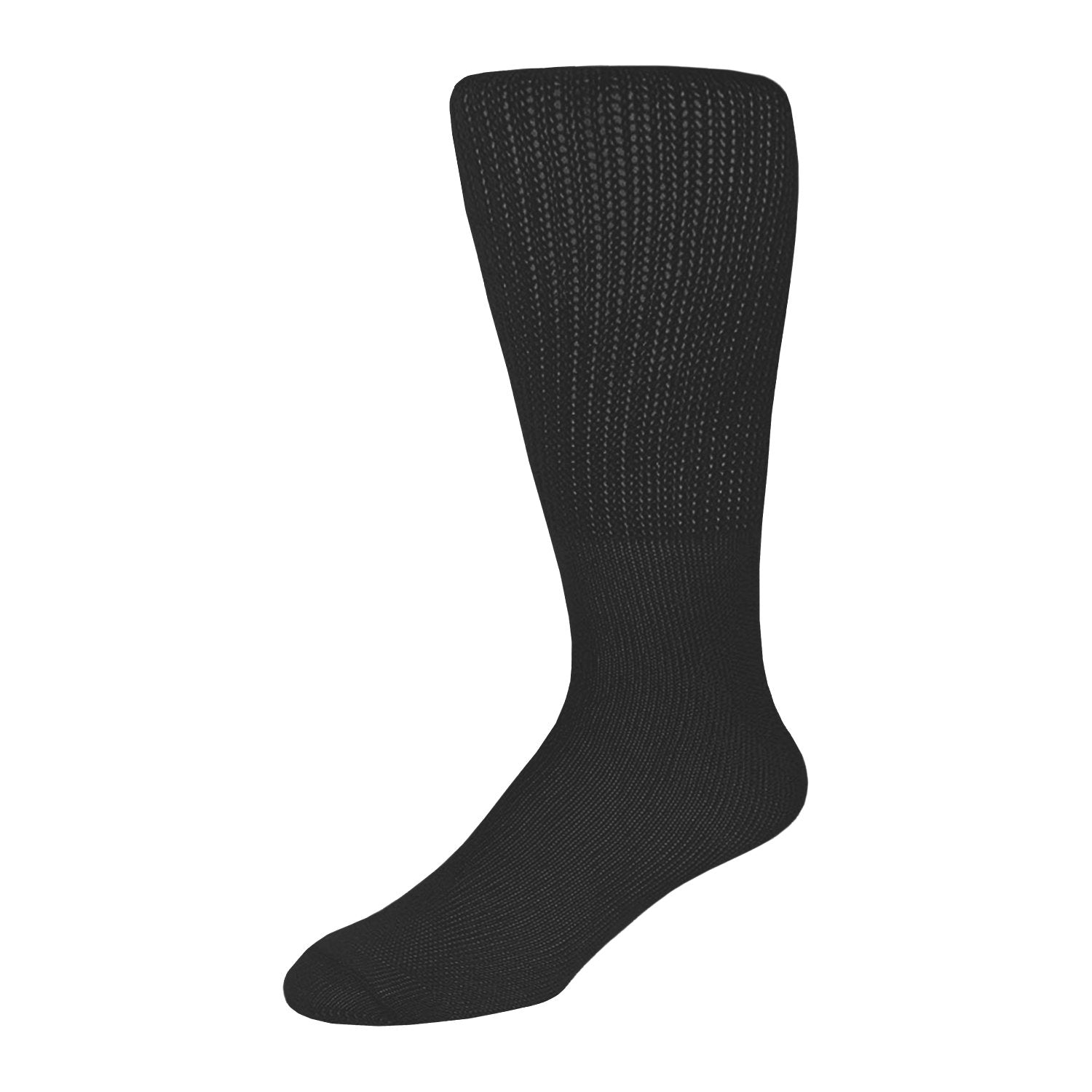 Extra Wide Diabetic Socks, Crew/Over-the-Calf  Medical Swollen Feet Socks