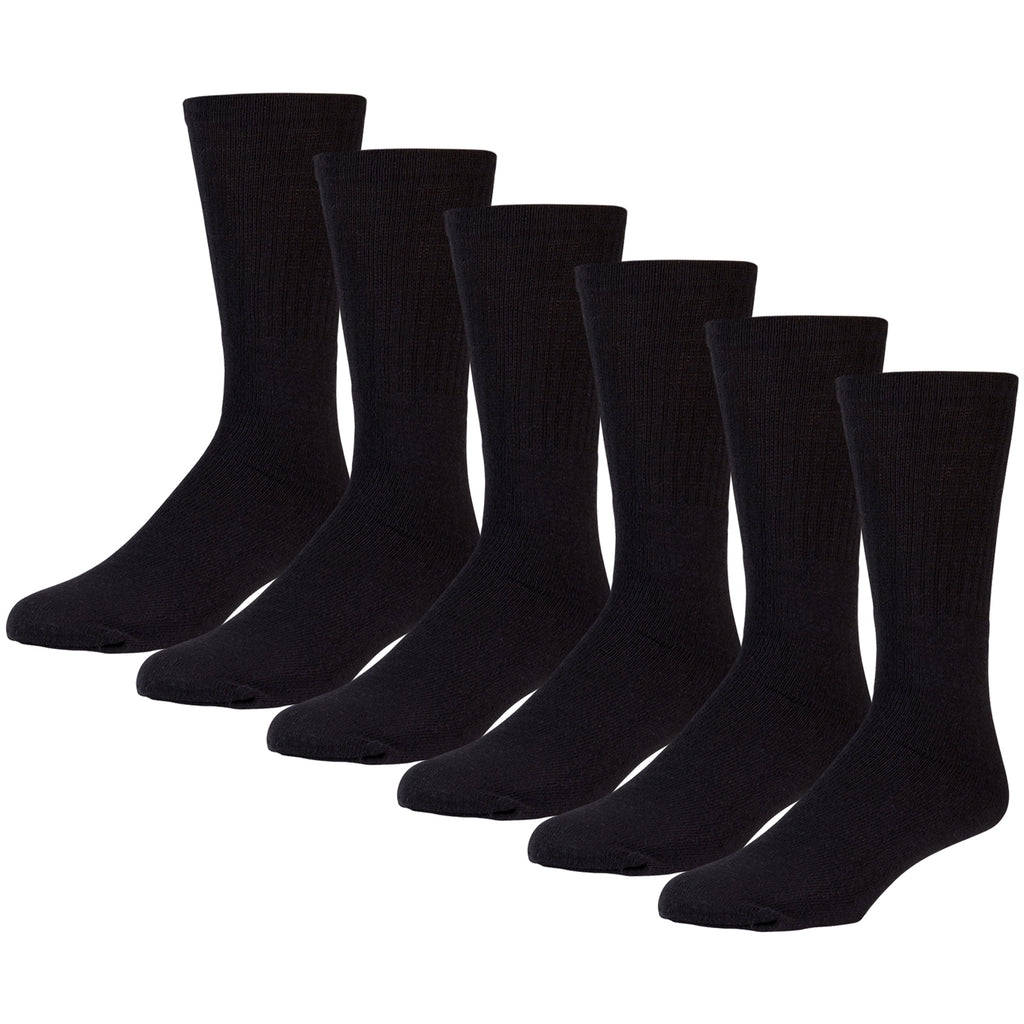 Kids Referee Style Cotton Sports Socks, Size 6-8