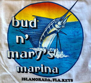 Classic Bud n' Mary's Sailfish T-shirt