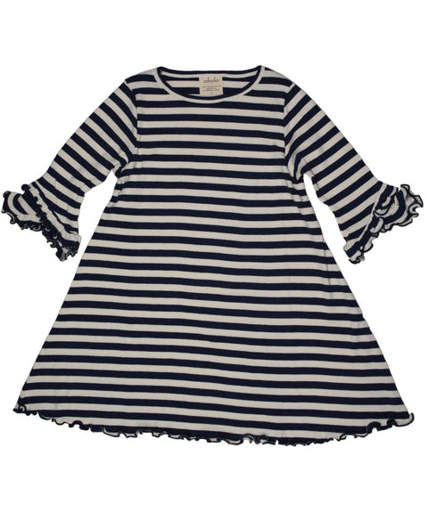 Joyful stripe dress