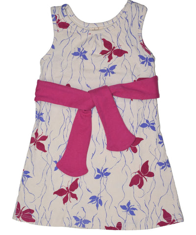 Butterflies tie dress
