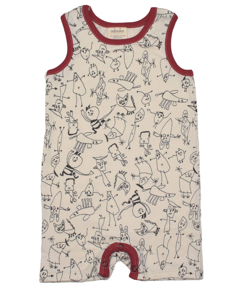 People tank romper