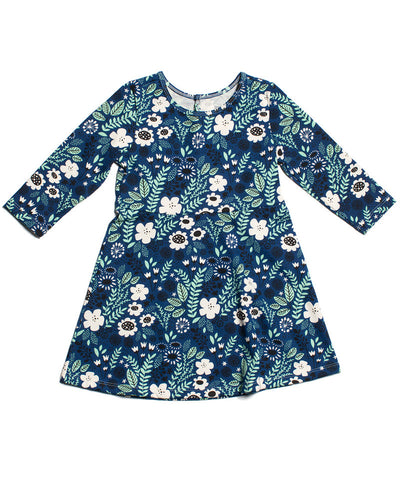 Winter Water Factory Dublin girls made in USA organic dress