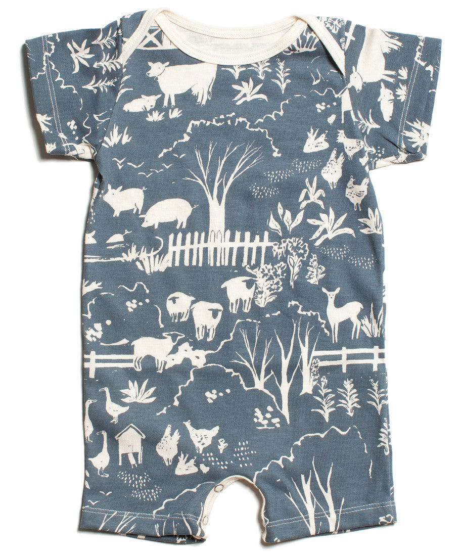 Farm next door romper