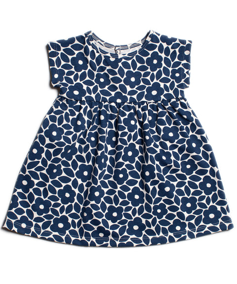 Merano organic cotton baby dress Made in USA Moroccan print