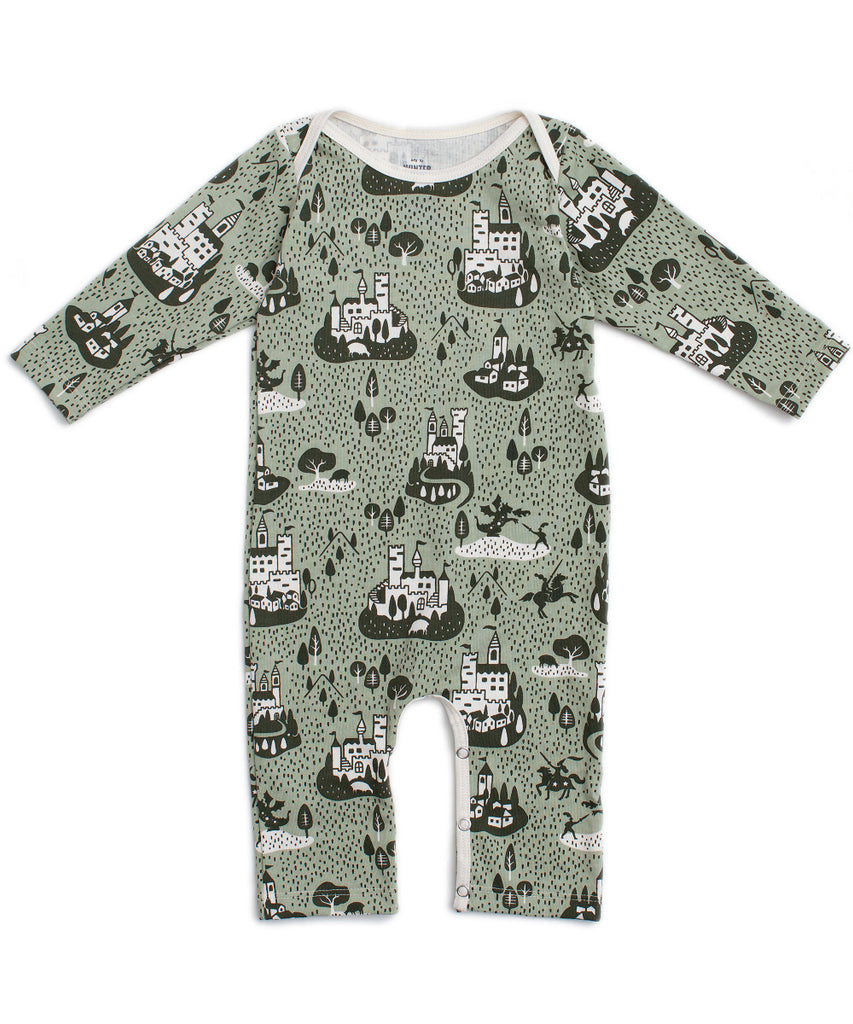 Castles + villages romper