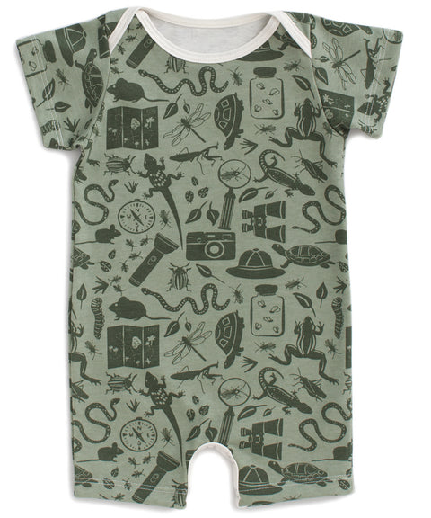 Nature explorer romper