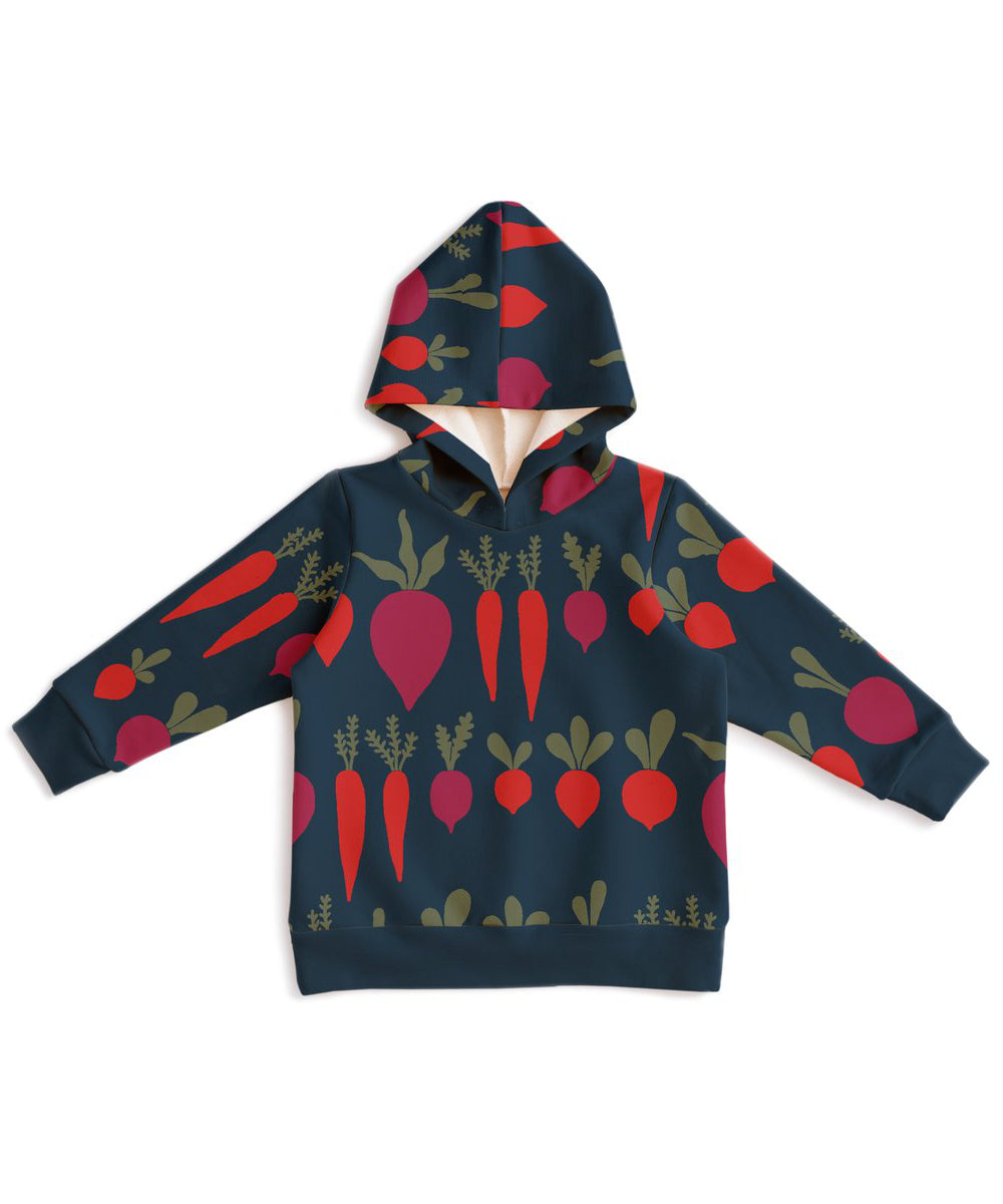 Root vegetables hoodie