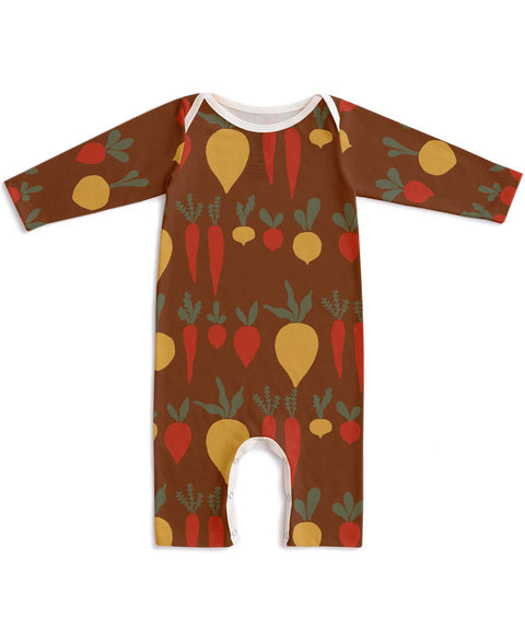 Root vegetables romper