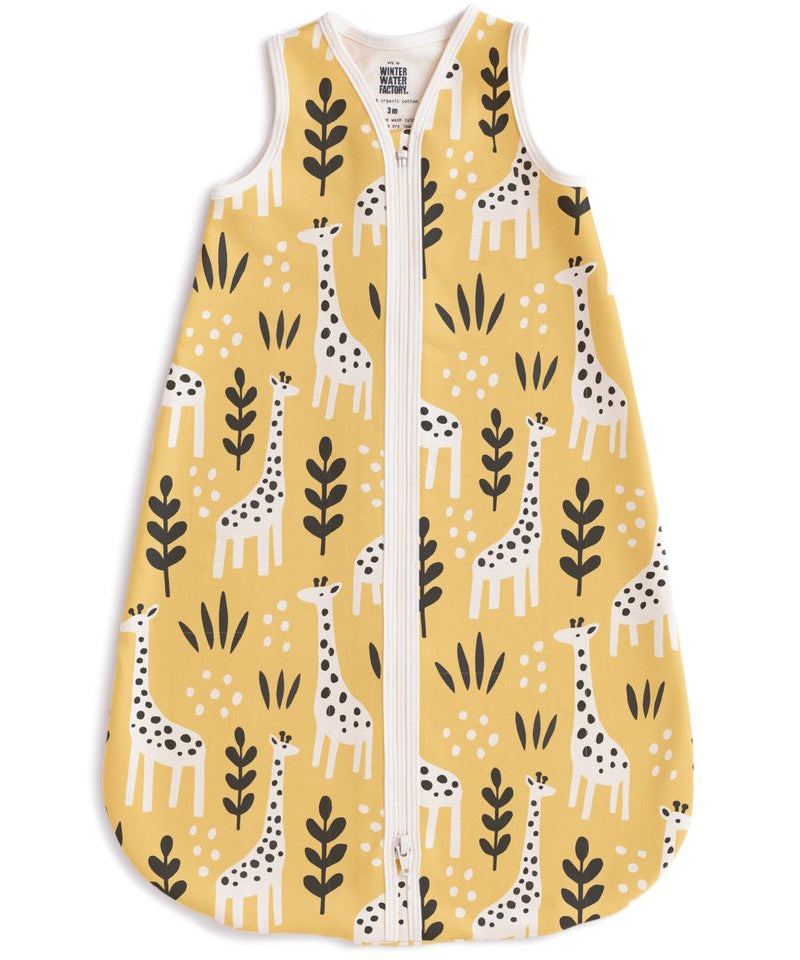 Giraffes wearable blanket