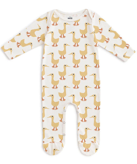 Ducks footed romper