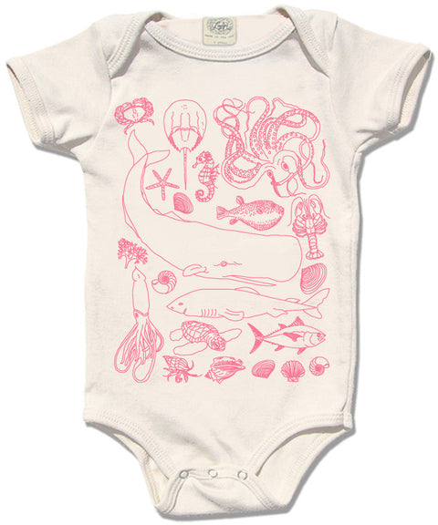 Sea life bodysuit