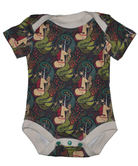 Mermaids + Unicorns baby girl clothes | Organic, made in USA