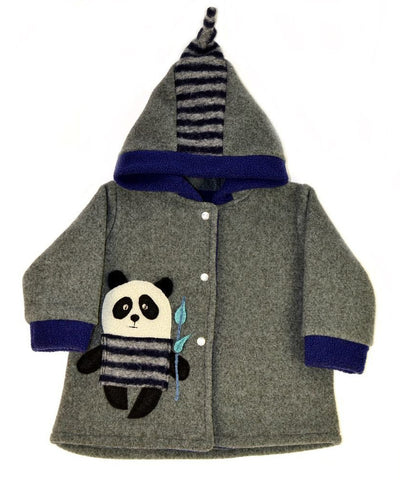 Panda children's coat made in USA