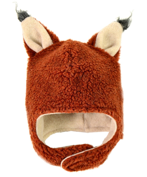 Made in USA kids fox hat by Tuff Kookooshka