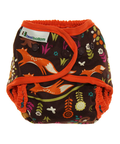 Made in USA cloth diaper shell | Jewel woods