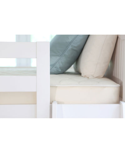 Organic cotton quilted deluxe mattress
