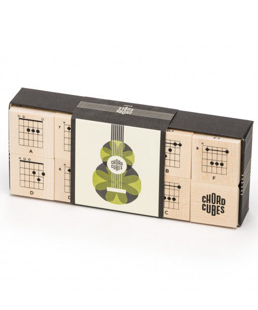 Guitar chord wooden toy blocks | made in USA by Uncle Goose