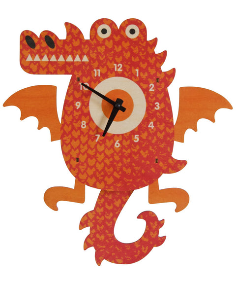 Dragon pendulum clock